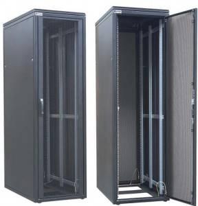Шкаф 19 напольный серверный Zpas WZ-DCI-006-5(77)11-01-0000-2-1