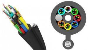 Волоконной-оптический кабель Трансвок ОКП-Т-1/3Сп-4(2) (4 кН)-1