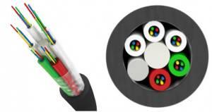 Оптический кабель Трансвок ОКМТ-О-1/5Сп-4(1/62,5) (1,5кН)