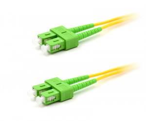 Шнур оптический duplex SC/APC-SC/APC 9/125 sm (длина 25 м)-1
