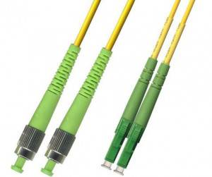 Шнур оптический duplex LC/APC-FC/APC 9/125 sm (длина 2 м)-1