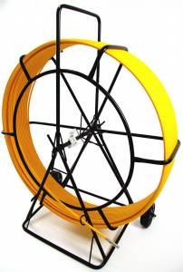 Протяжка для кабеля OlmOn СП-Т1-9/150 купить в Москве | Кабельная протяжка УЗК на тележке 9 мм, 150 м, низкая цена, собственное производство