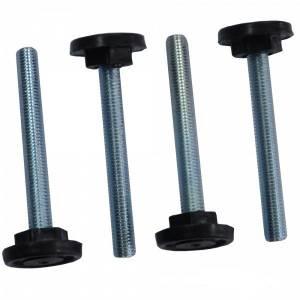 Ножки (винтовые опоры) для шкафов и открытых стоек (набор 4 шт)-1