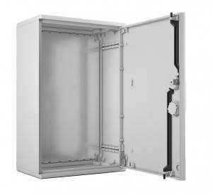 Электротехнический шкаф полиэстеровый EP-600.500.250-1-IP44-2