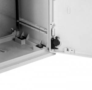 Электротехнический шкаф полиэстеровый EP-600.500.250-1-IP44-3