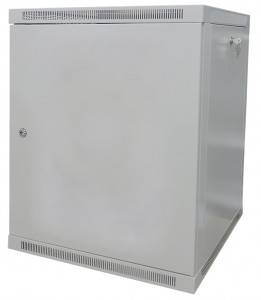 OlmiOn ШРН-Р-12.650.1 Шкаф 19 разборный, телекоммуникационный 12U, глубина 650 мм, дверь металл, цвет серый