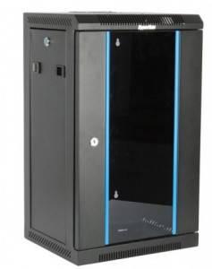 Шкаф настенный 10 дюймов Hyperline TDC-9U-GR-RAL9004