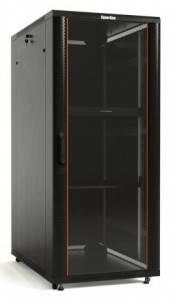 Шкаф напольный 19 телекомуникационный Hyperline TTB-3761-AS-RAL9004