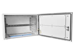 Шкаф уличный всепогодный настенный ЦМО ШТВ-Н-15.6.3-4ААА-3