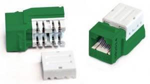 Модуль Keystone Hyperline KJNE-8P8C-C5e-90-GN