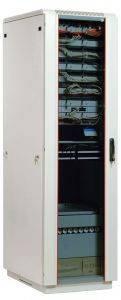 ЦМО ШТК-М-42.6.6-1ААА Шкаф телекоммуникационный напольный 42U (600x600) дверь стекло-1