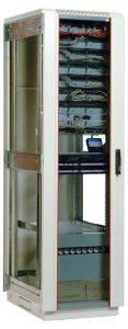 ЦМО ШТК-М-42.6.6-1ААА Шкаф телекоммуникационный напольный 42U (600x600) дверь стекло-5