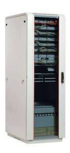 ЦМО ШТК-М-33.6.8-1ААА Шкаф телекоммуникационный напольный 33U (600x800) дверь стекло-1
