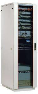 ЦМО ШТК-М-33.6.10-1ААА Шкаф телекоммуникационный напольный 33U (600x1000) дверь стекло-1
