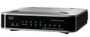 Маршрутизатор CISCO SD208P-G2 8-Port 10/100 маршрутизатор с POE-1