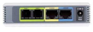 Маршрутизатор CISCO SPA2102-EU Маршрутизатор Single Port Router with 2 Phone Ports (Europe)-2