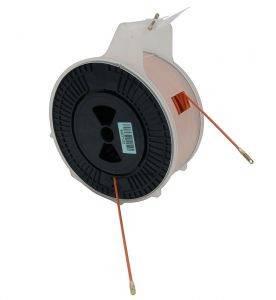 Протяжка мини УЗК из стеклопластика в пластмассовой коробке (диаметр 3,5 мм, длина 50 м)-1