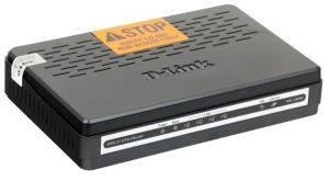 Маршрутизатор D-Link DSL-2540U/ BRU/ T1A Маршрутизатор ADSL2+ (ANNEX A) со встроенным 4-х портовым коммутатором-1