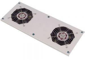 МВП-400-2С Модуль вентиляторный потолочный на 2 вентилятора с термодатчиком (35С)-1