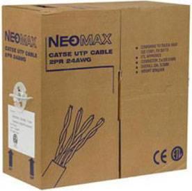Neomax NM10001 Кабель витая пара неэкранированная (UTP) категория 5e, одножильный (solid), 4 пары, бухта 305 м-2