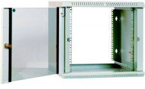 ЦМО ШРН-Э-6.500 Шкаф телекоммуникационный настенный разборный 6U (600х520) дверь стекло-2