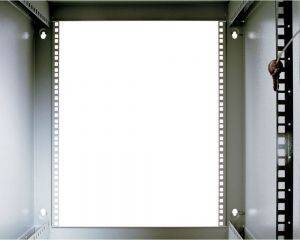 ЦМО ШРН-Э-9.650 Шкаф телекоммуникационный настенный разборный 9U (600х650) дверь стекло-2