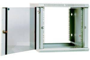 ЦМО ШРН-Э-9.650 Шкаф телекоммуникационный настенный разборный 9U (600х650) дверь стекло-3