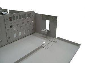 Кросс оптический настенный на 48 портов ST (FC) со сплайс-кассетой (без пигтейлов и проходных адаптеров)-4