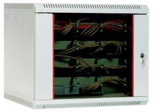 Шкаф настенный 19 дюймовый телекоммуникационный ЦМО ШРН-Э-15.500