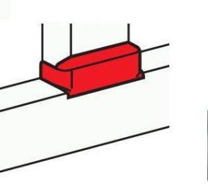 Отвод Т образный Legrand 10740