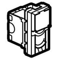 Legrand 076551 Розетка RJ 45 Mosaic, категория 5е, UTP, 1 модуль, белый, LCS^2-1