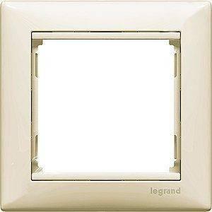 Legrand 774351 Рамка 1 пост, горизонтальная, сл.кость, Valena