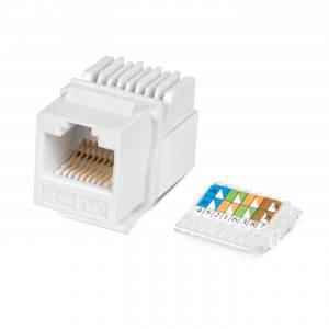 Вставка Keystone Cabeus KJ-RJ45-Cat.5e-Toolless