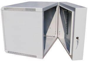 ЦМО ШРН-12.500-3С Шкаф телекоммуникационный настенный откидной 12U (600х520) дверь стекло-2