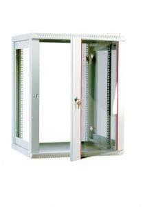 ЦМО ШРН-М-12.650 Шкаф телекоммуникационный настенный разборный 12U (600х650), съемные стенки, дверь стекло-2