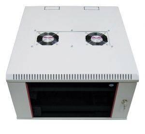 ЦМО ШРН-М-12.650 Шкаф телекоммуникационный настенный разборный 12U (600х650), съемные стенки, дверь стекло-3