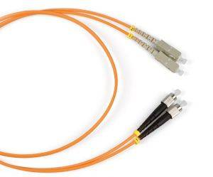 Шнур оптический (патч-корд) duplex SC-FC 50/125 mm (длина 15 м)-1