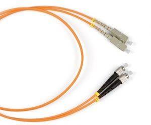 Шнур оптический (патч-корд) duplex SC-FC 50/125 mm (длина 3 м)-1
