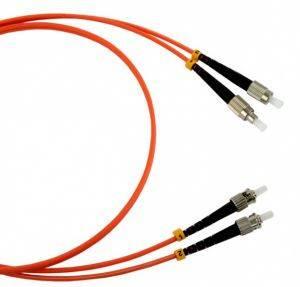 Шнур оптический (патч-корд) duplex FC-ST 50/125 mm (длина 10 м)-1