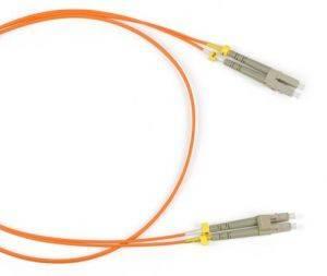 Шнур оптический (патч-корд) duplex LC-LC 50/125 mm (длина 1 м)-1