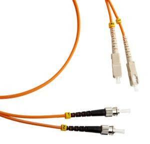 Шнур оптический (патч-корд) duplex SC-ST 50/125 mm (длина 10 м)-1