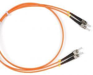 Шнур оптический (патч-корд) duplex ST-ST 50/125 mm (длина 1 м)-1
