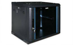 Шкаф телекоммуникационный 19 настенный Hyperline TWFS-1266-GP-RAL9004