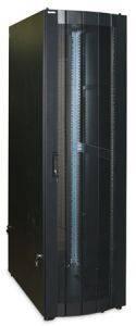 Шкаф напольный 19 телекомуникационный Hyperline TSA-3261-PD-RAL9004