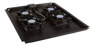 Модуль вентиляторный Hyperline TFAT-TC800-4-RAL9004